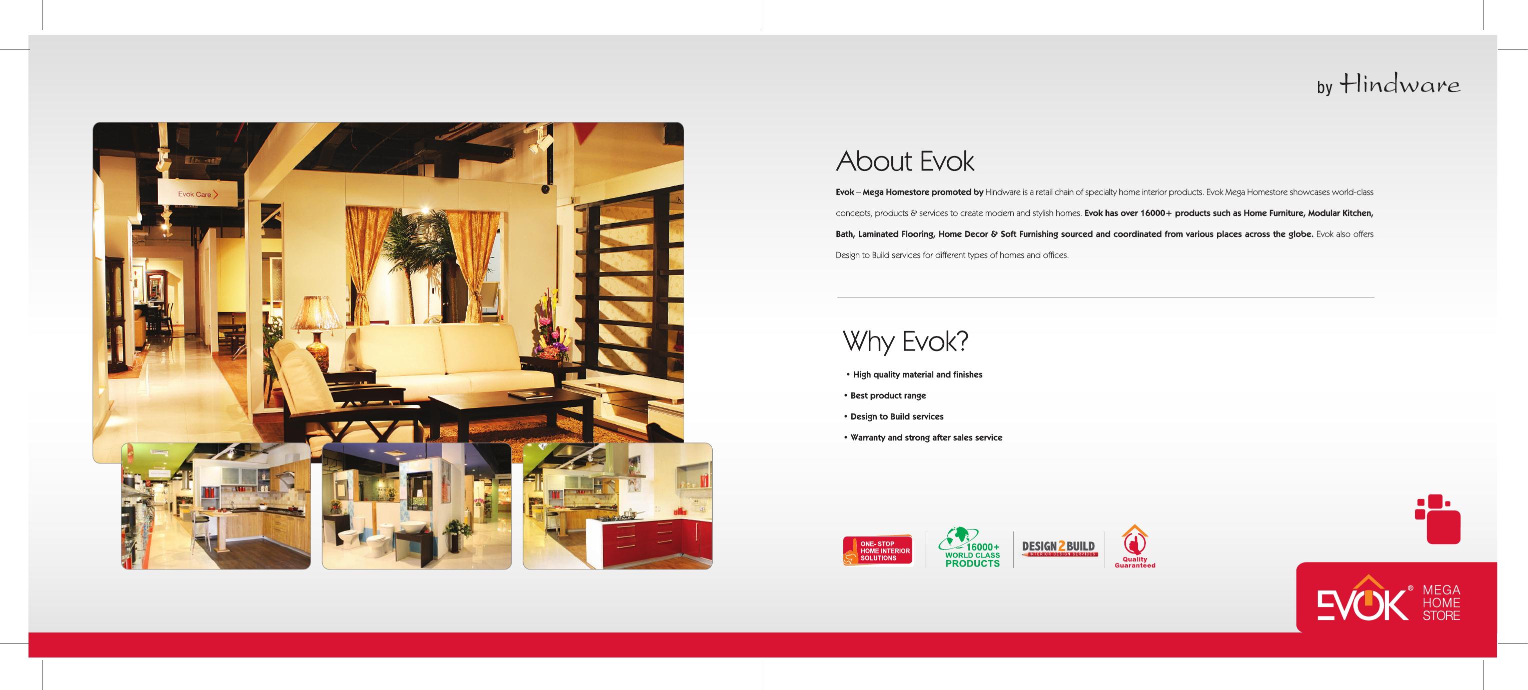 EVOK   Modular Kitchen   [PDF Document]